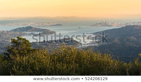 schilderachtig · landschap · berg · top · bergen · panorama - stockfoto © yhelfman
