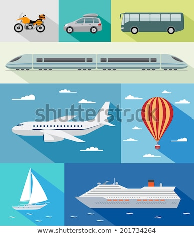 Marine Means of Transport Vector Illustration Stock photo © robuart
