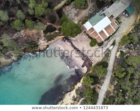 Costa mallorca ilha Espanha solitário Foto stock © amok