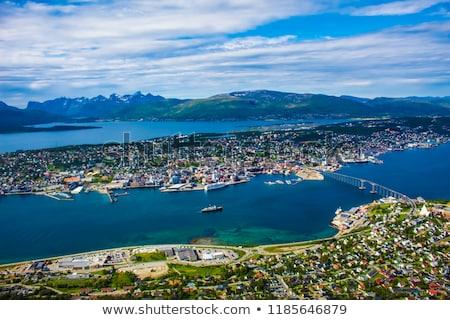 моста город Норвегия антенна фотографии Мир Сток-фото © cookelma