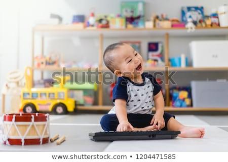 мало мальчика ребенка Cute афроамериканец Сток-фото © Anna_Om
