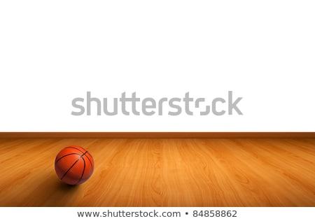 basketbal · bal · illustratie · 3D · hoog - stockfoto © make