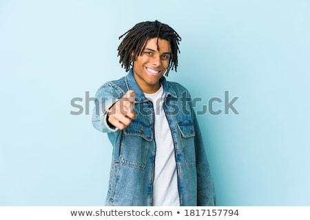 fickó · fekete · kabát · kezek · üzletember · férfiak - stock fotó © feedough