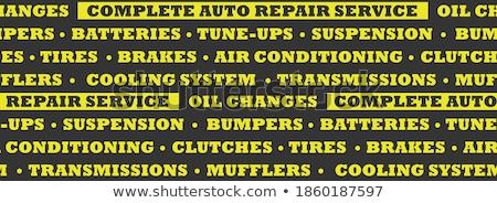Acondicionador reparación vector Foto stock © pikepicture