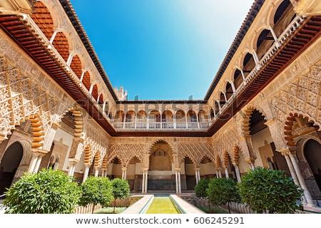 palácio · Espanha · viajar · arquitetura · estilo · cultura - foto stock © borisb17