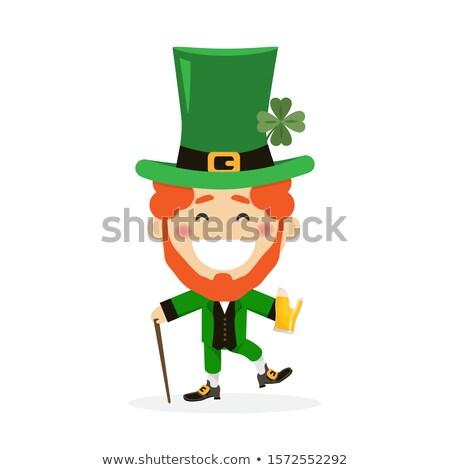 Santo giorno ragazzo tradizionale abito Irlanda Foto d'archivio © Imaagio