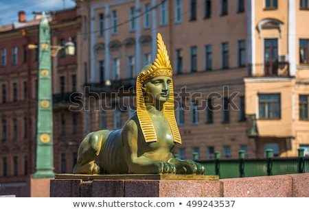 Fontanka River in Saint Petersburg, Russia Stock photo © borisb17