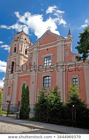 教会 ヴィルニアス リトアニア バロック スタイル ストックフォト © borisb17