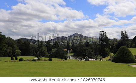 Powerscourt park, Ireland Stock photo © borisb17
