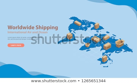 Worldwide Delivery and International Business Stock photo © robuart