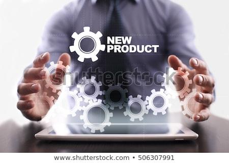 Produkt Entwicklung Web-Design Herstellung Maschinen Zimmer Stock foto © robuart