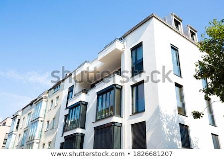 современных дома Берлин Германия здании синий Сток-фото © elxeneize