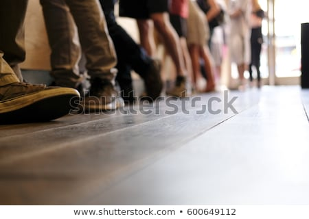 People Waiting In Line. Standing Stock photo © AndreyPopov