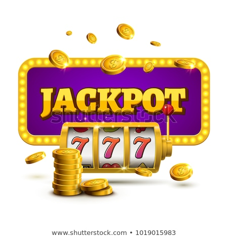 Casino jackpot chanceux jeux vecteur Photo stock © robuart