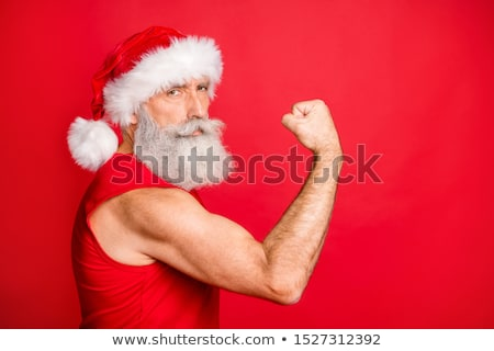 man shows biceps stock photo © Paha_L