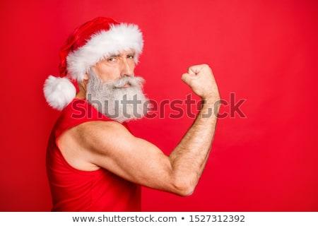 man shows biceps stock photo © Paha_L