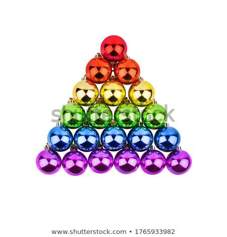 gay pyramid stock photo © elenarts
