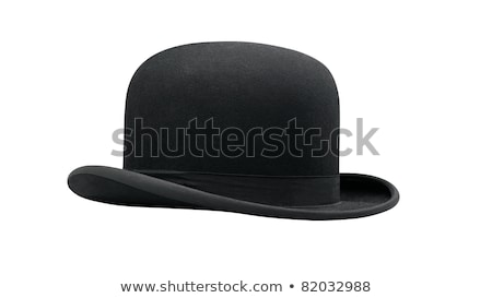 черный белый моде мебель Hat Сток-фото © mayboro