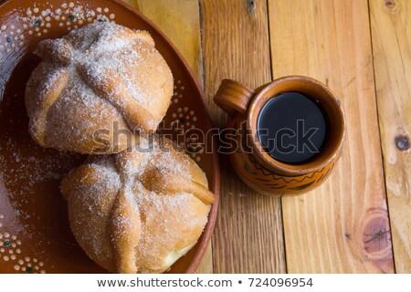 Tradizionale rituale pane pita cucina colore Foto d'archivio © elly_l