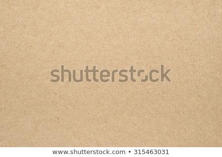 Barna újrahasznosított papír textúra karton papír részlet Stock fotó © sirylok