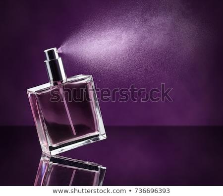 Purple Glass Perfume Bottle Stock photo © REDPIXEL