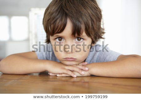 little boy sulking Stock photo © photography33