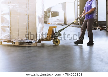 pallet truck stock photo © johanh