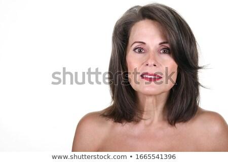 agradável · momento · foto · loiro · feminino - foto stock © photography33