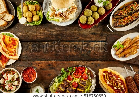 Various food in buffet Stock photo © simply
