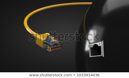 Rj-45 connector Stock photo © vtorous