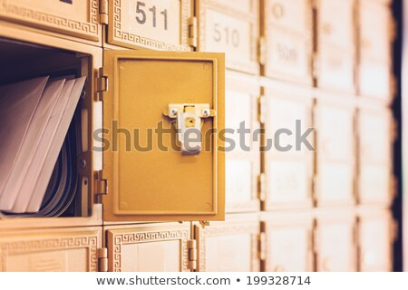 The key in open mail envelop. Stock photo © snyfer
