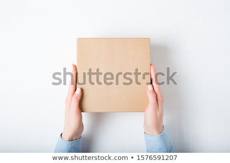 strony · tektury · kobiet · pusty · kawałek - zdjęcia stock © taigi