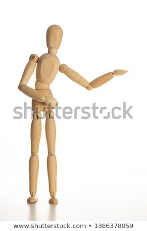 木材 · 人形 · 外に · 成功 · 自由 · だけ - ストックフォト © richardjary