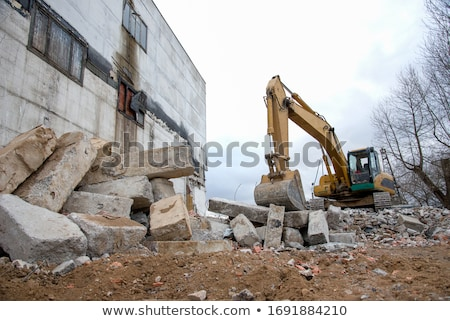 Concrete demolishing Stock photo © simazoran