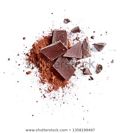 baking chocolate stock photo © tagore75