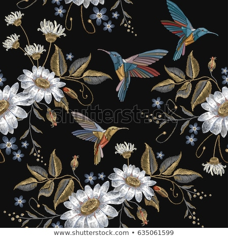 T Shirt Template- Spring leaves Stock photo © shawlinmohd