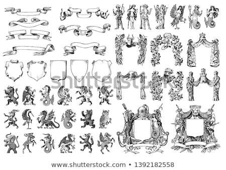 ilustración · útil · disenador · trabajo · marco - foto stock © kjolak