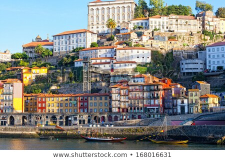 View of Porto in Portugal on bright summer day Stock photo © Elnur