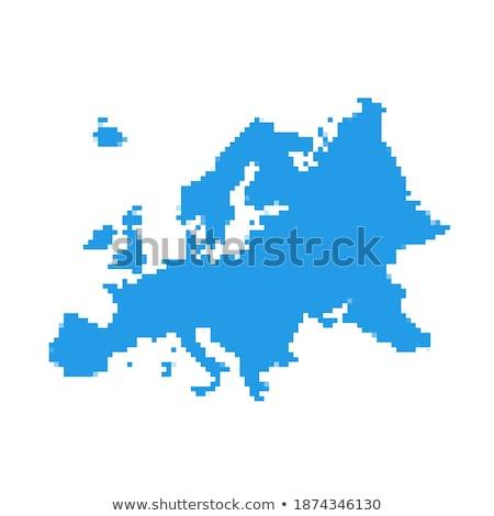 карта царство Нидерланды точка шаблон вектора Сток-фото © Istanbul2009