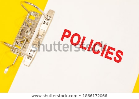 projects concept with word on folder stock photo © tashatuvango