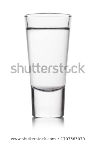 выстрел стекла водка белый чистой алкоголя Сток-фото © tarczas