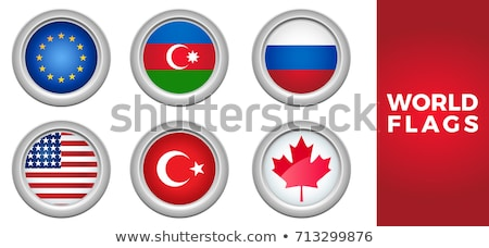 Canada and Azerbaijan Flags Stock photo © Istanbul2009