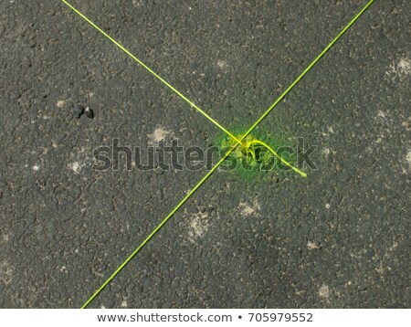 amarelo · corda · terreno · trabalhar · trabalho · concreto - foto stock © user_9323633