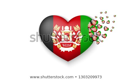 I love afghanistan sign Stock photo © MikhailMishchenko