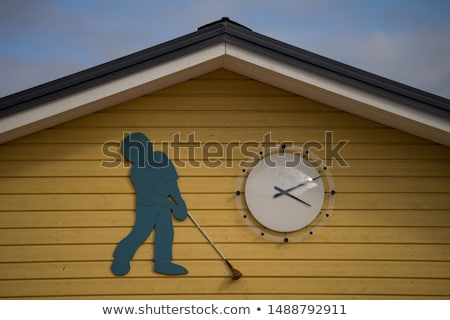 Relógio golfe tempo Foto stock © CaptureLight