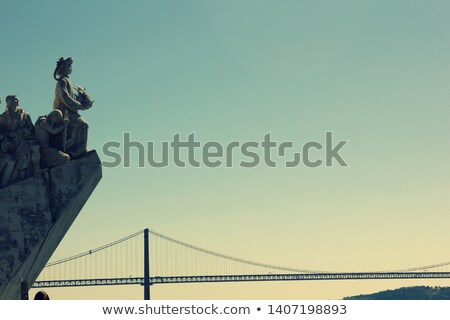 Beautiful, mysterious conventual nun.Beautiful, mysterious conventual nun stand on the wooden bridge stock photo © ANessiR