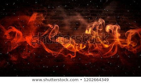 Wall of fire Stock photo © klikk