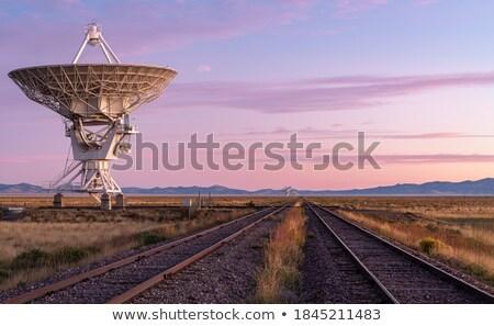 Radar on New Mexico Stock photo © Bigalbaloo