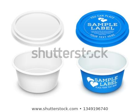 クリーム チーズ マーガリン バター 孤立した ストックフォト © magraphics