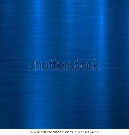 Kék fém technológia absztrakt csiszolt textúra Stock fotó © molaruso